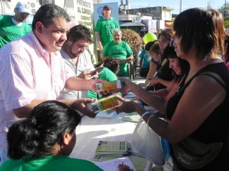 San Fernando: Masiva campaña de Aguilera a favor del uso racional de la energía