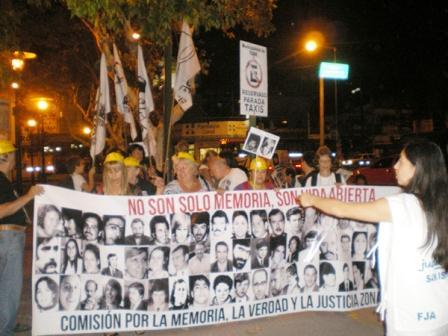 San Fernando acompaña la semana de la memoria