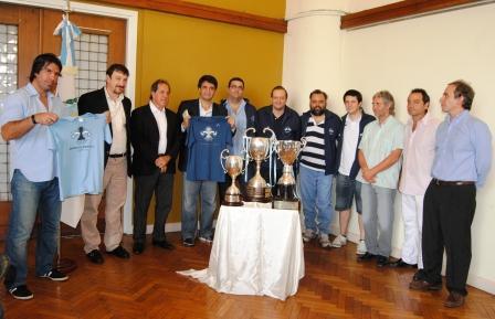 Jorge Macri recibió al equipo campeón argentino de ajedrez