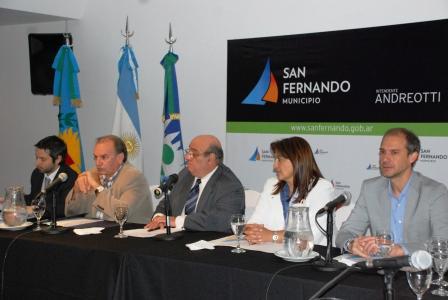 Se entregaron a la provincia datos reales de la situación del municipio de San Fernando