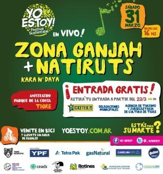 Llega a Tigre el Festival sustentable YoEstoy!