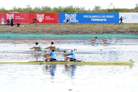 Denuncian que Argentina recibió botes en mal estado para una competencia panamericana