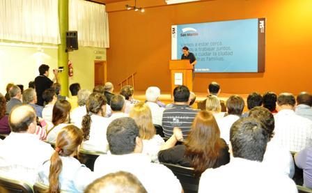 Gabriel Katopodis convocó a todos sus funcionarios y colaboradores del Municipio a una reunión de trabajo