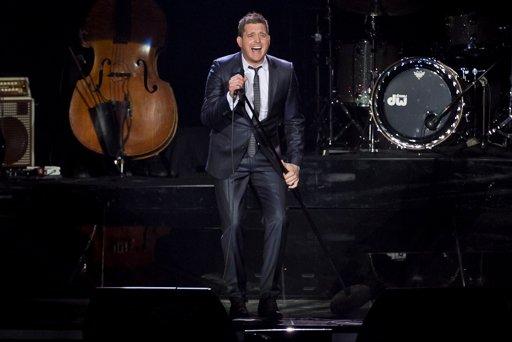 Michael Bublé ya juega de local en Buenos Aires