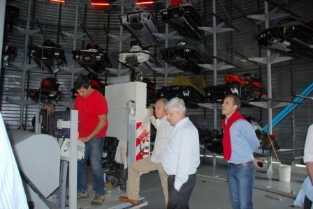 Luis Andreotti, compartió una reunión de trabajo con autoridades de la guardería náutica Sarthou