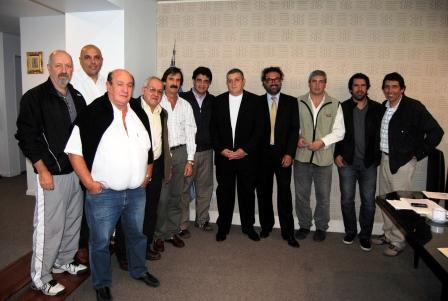 Jorge Macri recibió a representantes de la Federación Convivir