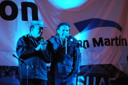 San Martín celebró los 80 años de José León Suárez