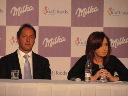 Gesto político de Scioli para negociar candidatos con Cristina