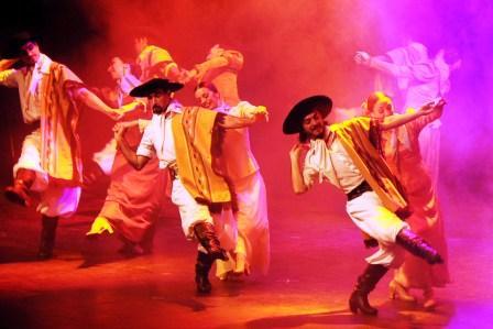 El Ballet Folklórico Nacional se lució en Tigre