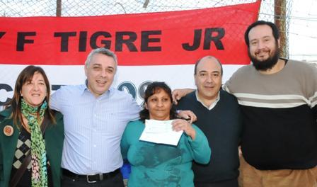 Ayuda al Club Unión y Fuerza Tigre Juniors del Barrio San Pablo