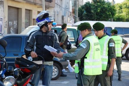 Se realizó un importante operativo de control vehicular en San Fernando