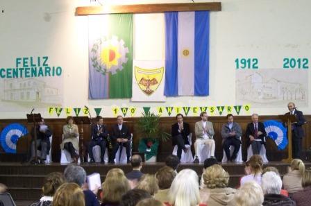 Comenzaron los festejos del Centenario de la Escuela Normal de San Fernando