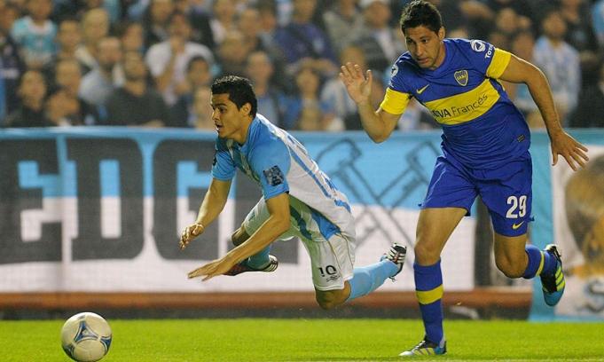 Boca liquidó a Racing con dos golazos y volvió a la punta