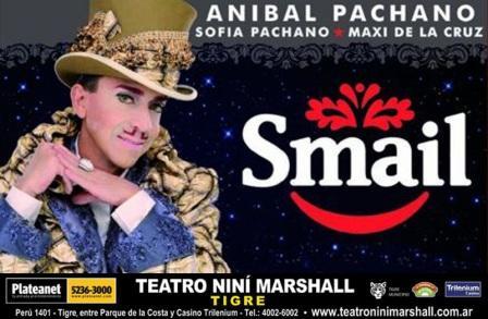 La cartelera teatral se renueva con Smail protagonizada por Aníbal Pachano