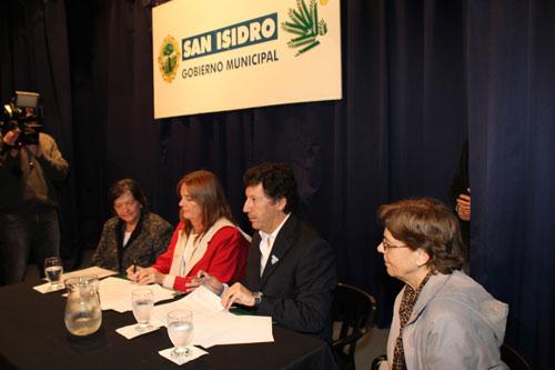 Ana Del Pozo, Josefa Rodríguez, Gustavo Posse y Susana Vázquez.