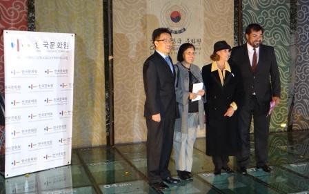 Exitoso intercambio Cultural entre Embajadores Sanfernandinos y el Centro Cultural Coreano