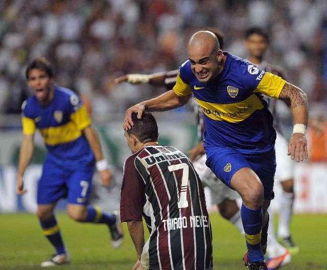 Boca se clasificó para las semifinales de la Copa Libertadores tras empatar con Fluminense