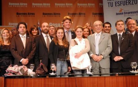 Lanzamiento del premio Joven Empresario Bonaerense 2012