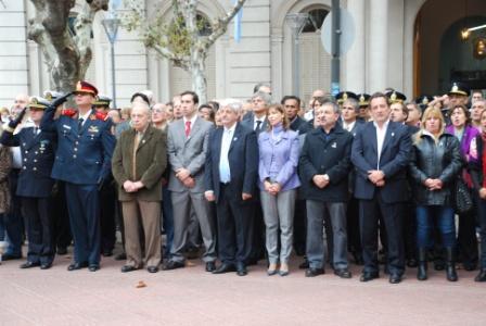 San Fernando festejó el Día de la Patria en la Plaza Mitre