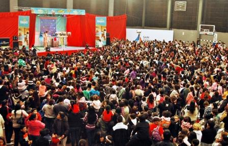 Se realizó el festival del Bebé en San Fernando