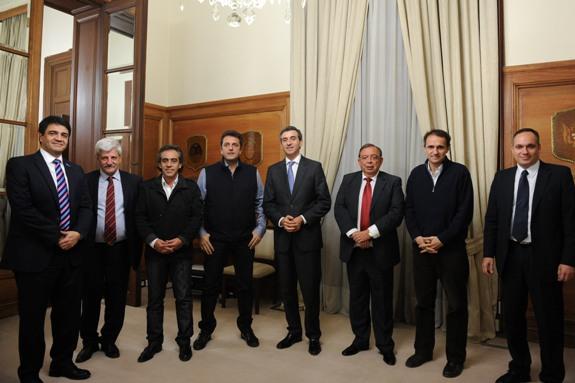 Randazzo acordó con Intendentes colaborar en mejoras en la traza del ferrocarril Mitre