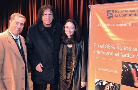 """Alejandro Dolina en Pilar: """"Me gusta el contacto con la gente"""""""