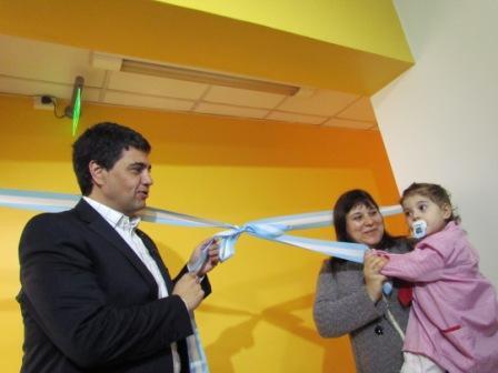 Inauguraron nuevas áreas en el Jardín Maternal Nº 4 de Munro