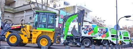 San Fernando presentó la nueva flota de camiones municipales