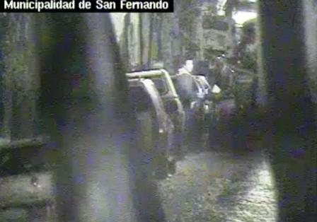 Impiden un robo en San Fernando por las cámaras de seguridad