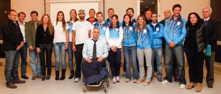 Tigre realizó una despedida a los remeros argentinos que competirán en Londres