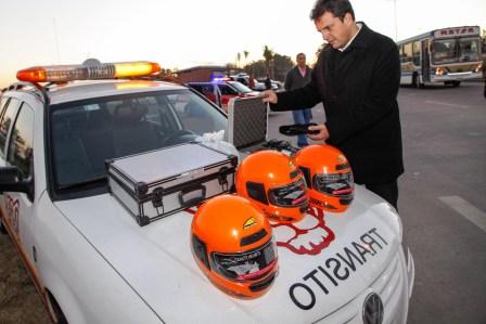 Fuerte operativo de control vehicular en Tigre