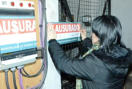 La Municipalidad de San Martín clausuró tres antenas de importantes compañías telefónicas