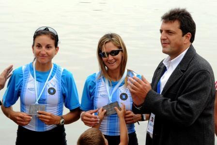 Los remeros olímpicos se despiden junto a la Escuela Municipal de Remo