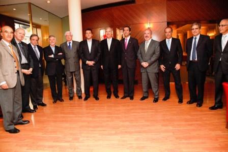 Massa se reunió con la Cámara Española de Comercio
