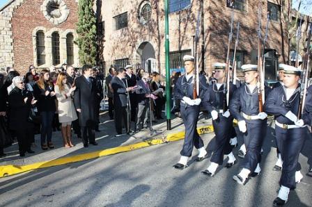 Se conmemoró en San Isidro el día la independencia