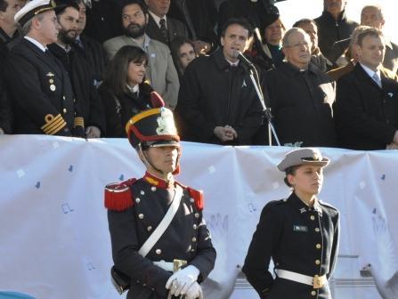 El Municipio de San Martín celebró el 9 de julio con un desfile cívico-militar