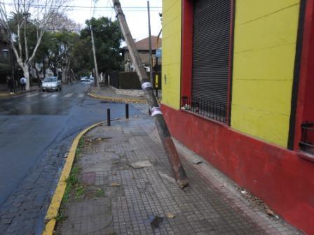 Ante el reclamo del Municipio, Edenor reparó distintos postes de luz en varias zonas del distrito