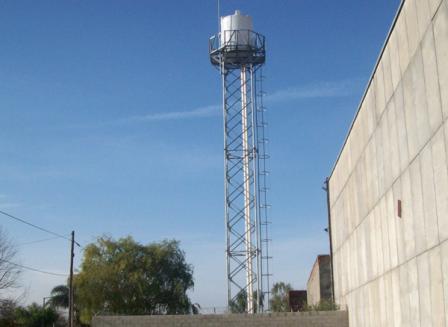 La antena ilegal estaba ubicada en un predio en Gurruchaga 2350 (Boulogne)