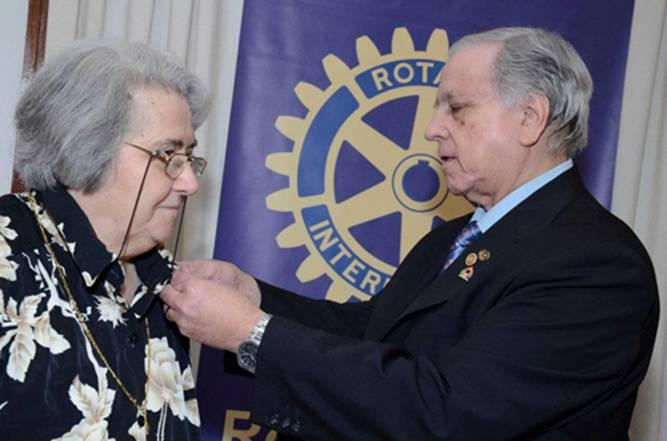 Héctor Román le transfiere el mando a Ida Bianchi
