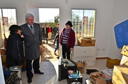 San Fernando comenzó con la entrega de viviendas en el barrio San Jorge