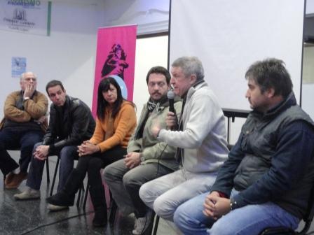 Oporto en un Ciclo de Cine en Vicente López