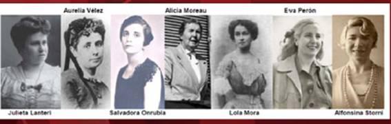 Mujeres notables del país estarán en San Isidro