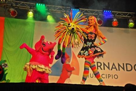 Diez mil vecinos de San Fernando disfrutaron del show de Panam por el Día del Niño