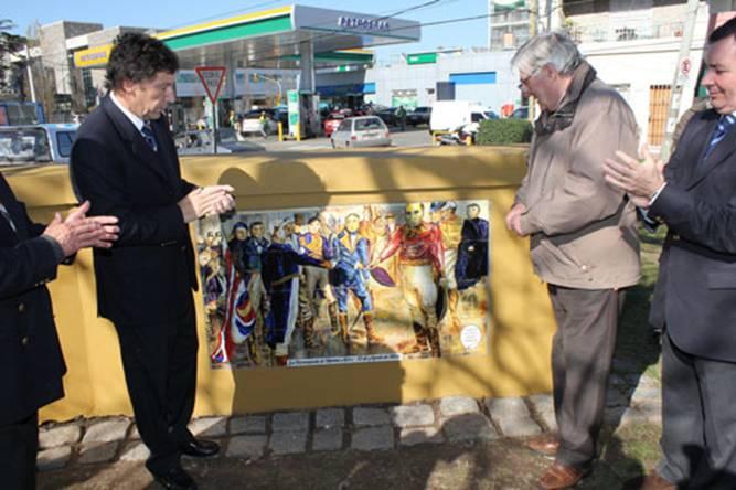 Evocaron en san isidro la reconquista de Buenos Aires