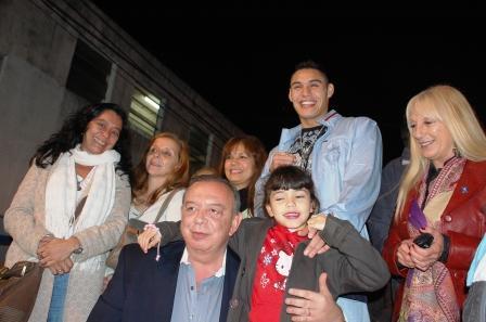 Yamil Peralta homenajeado en Del Viso