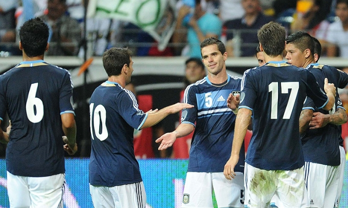 Argentina le ganó a Alemania en Frankfurt