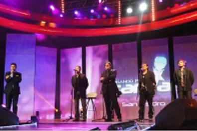 """Exclusivo show de Los Nocheros en """"Soñando por Cantar"""""""
