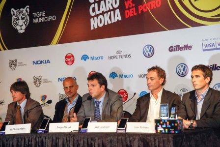Federer y Del Potro jugarán la revancha en Tigre