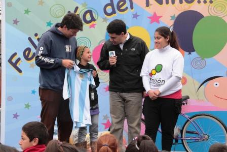 Los niños celebraron su día en Vicente López