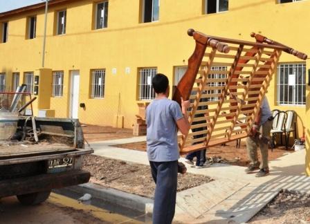 Finalizó la entrega de las 43 viviendas construidas para las familias del Barrio San Jorge